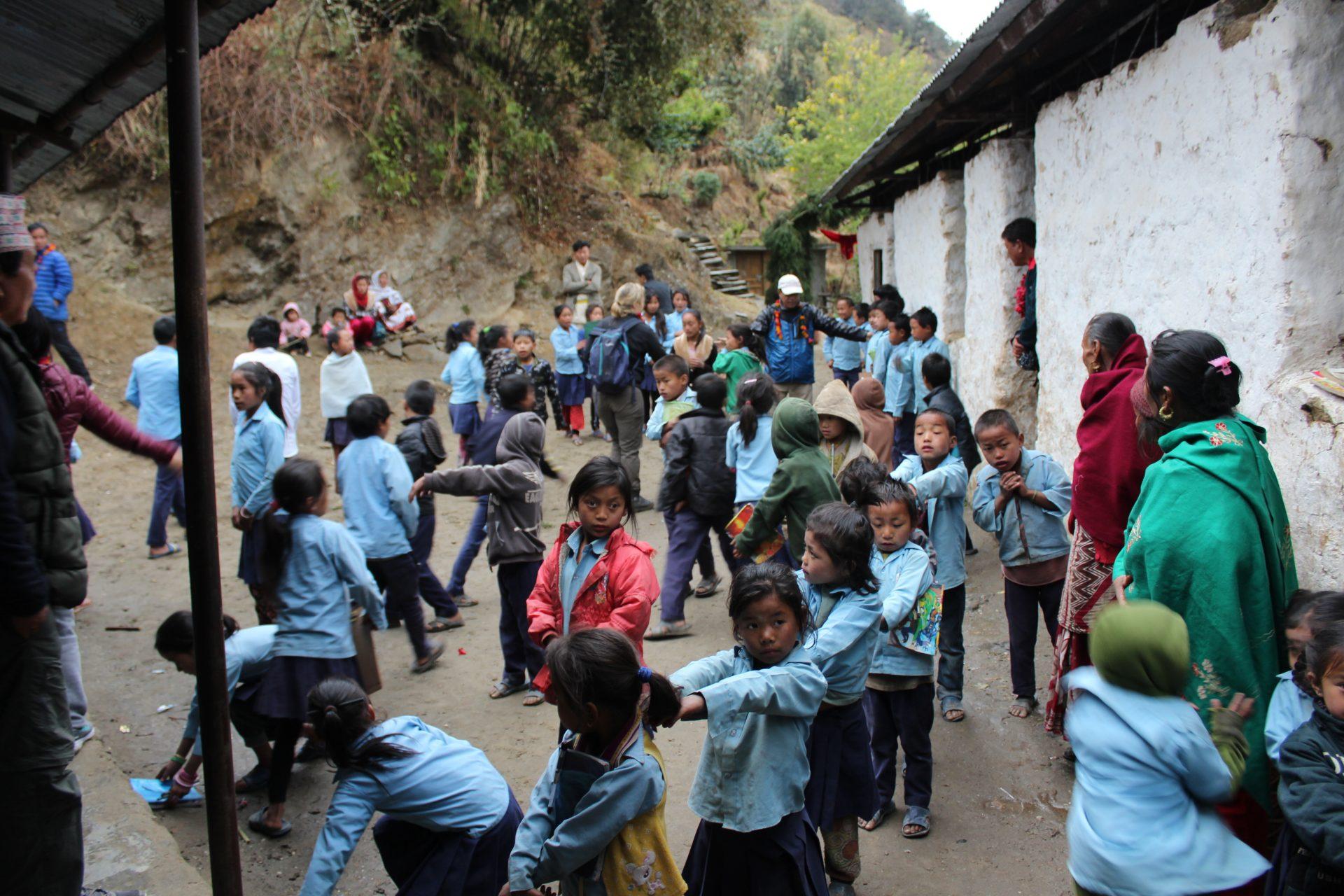 Stensdal Group sponsorerer opførelsen af en skole til 200 elever i Nepal